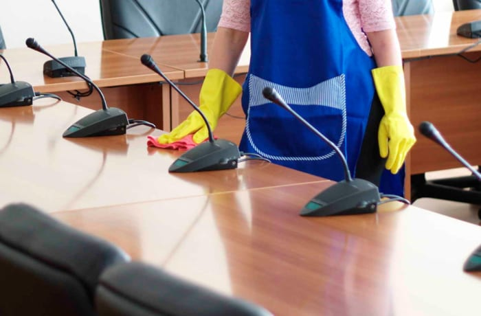 Office and industrial cleaning image