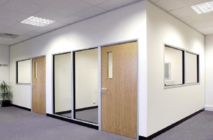 Drywall partitioning systems image