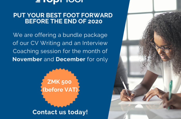 CV writing and Interview coaching at K500 image