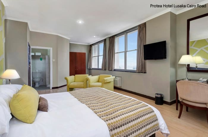 Protea Hotel Lusaka Cairo Road - One-Bedroom Suite