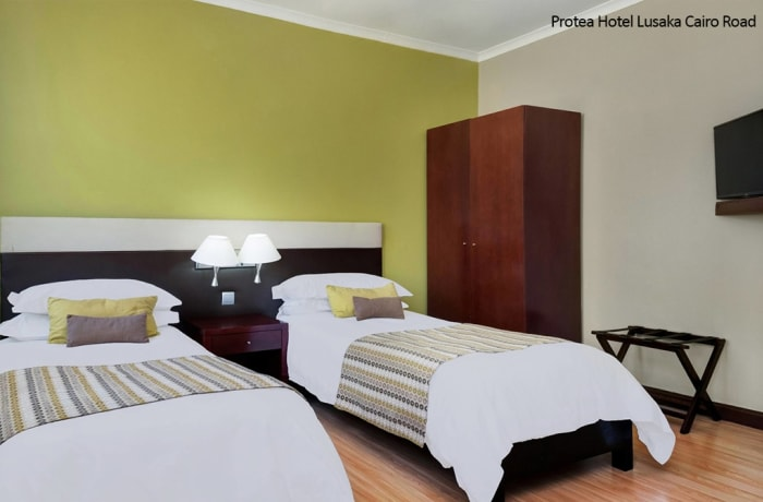 Protea Hotel Lusaka Cairo Road - Twin Guest Room