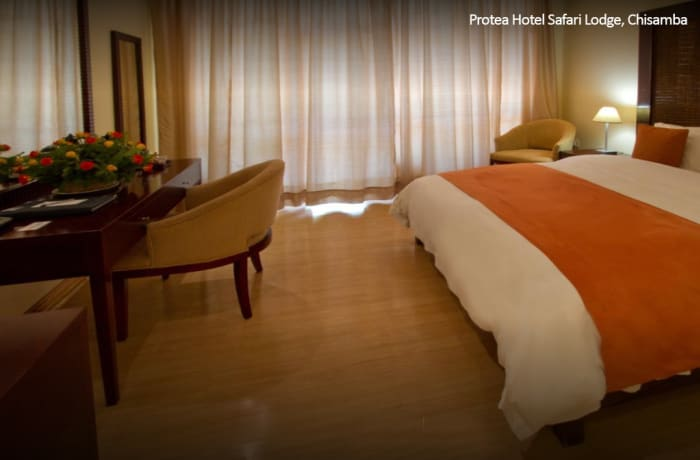 Protea Hotel Safari Lodge, Chisamba - King Chalet Guest Room