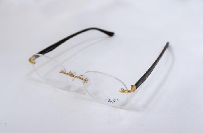 Ray-Ban Rimless Eyeglass Frames