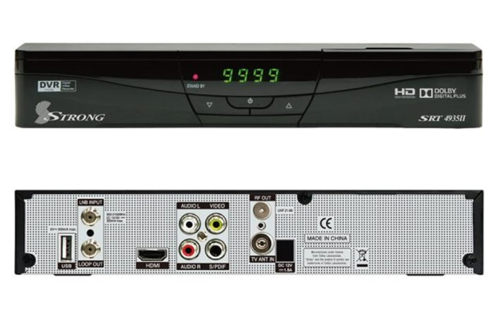 Satellite TV receiver SRT 4935II