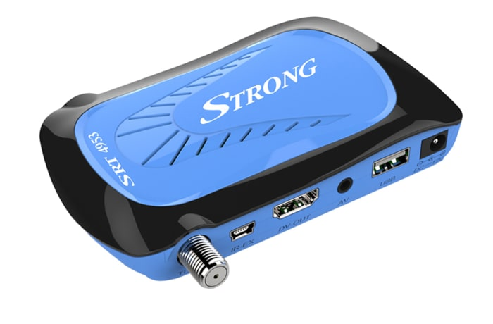 Satellite TV receiver SRT 4953