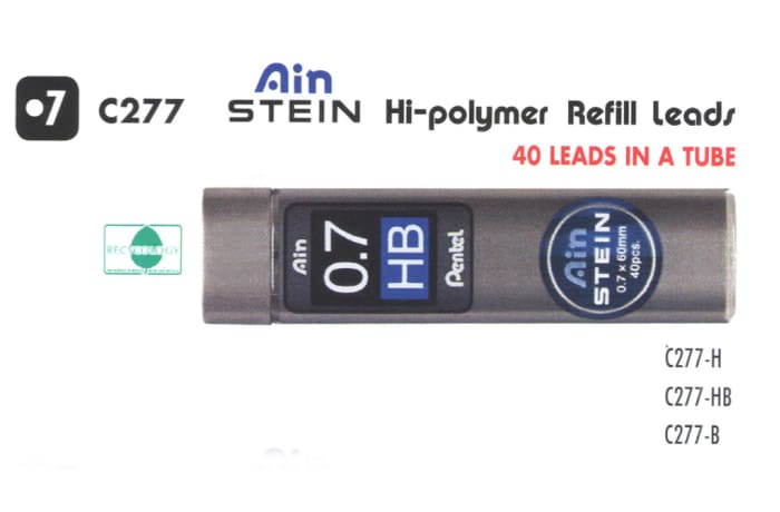 Refill Leads - C277 Ain Stein Hi-polymer Refill Leads