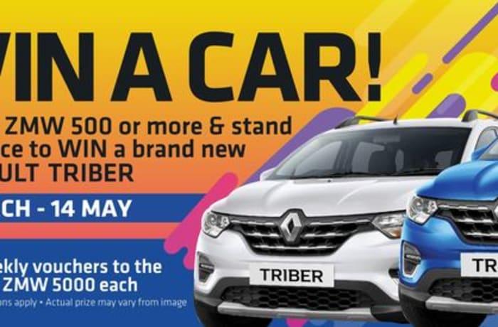 Win a Renault Triber at Mandahill image