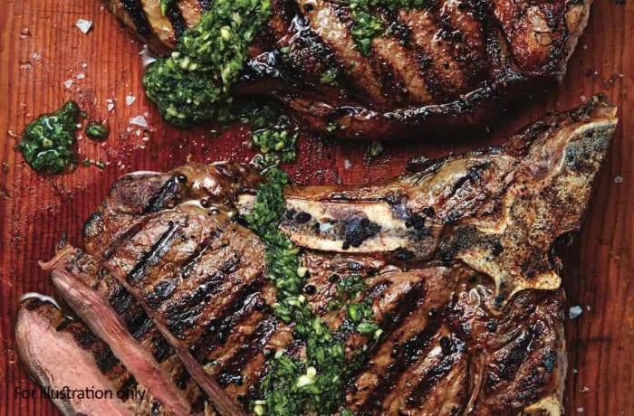 Barbeque Braai Menu - Hots - Choice T-Bone Steaks
