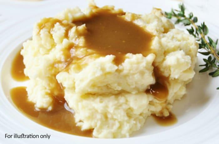 Barbeque Braai Menu - Hots - Mash Potato & Gravy