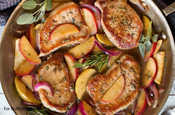 Barbeque Braai Menu - Hots - Pork Chops