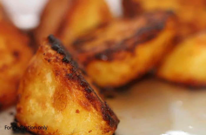 Barbeque Braai Menu - Hots - Roast Potatoes