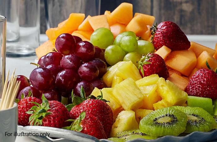Bridal Breakfast-Brunch Menu - Cold - Assorted Fruit (Sliced & Whole)