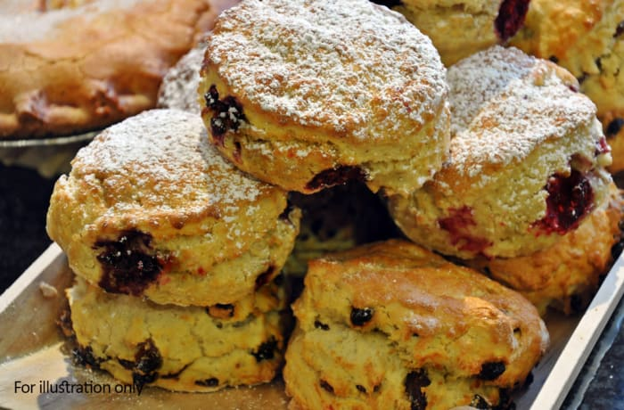 Bridal Breakfast-Brunch Menu - Cold - Home-made Scones