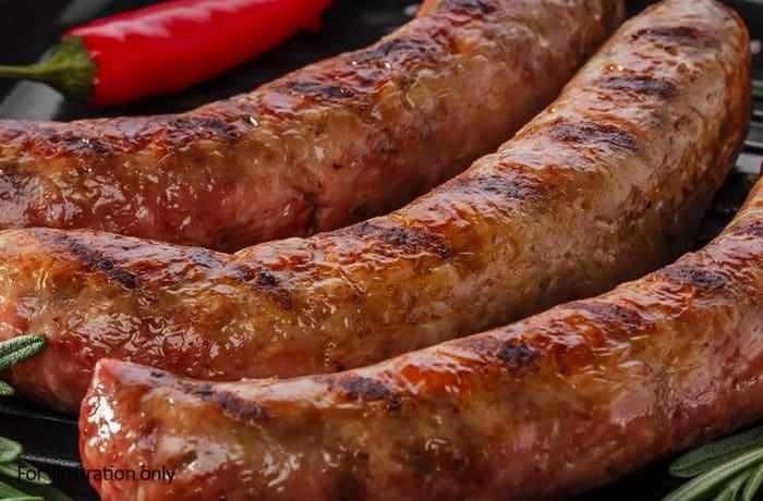 Bridal Breakfast-Brunch Menu - Hots -  Beef Sausage