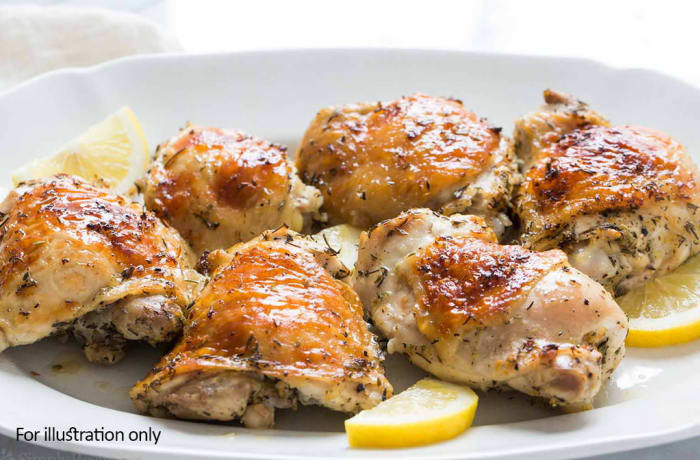 Bridal Breakfast-Brunch Menu - Hots - Roast Chicken Pieces