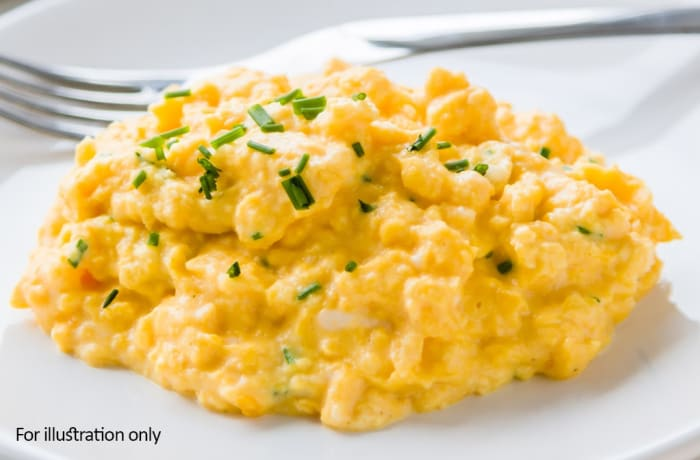 Bridal Breakfast-Brunch Menu - Hots - Scrambled Eggs
