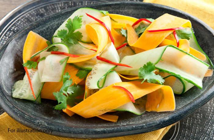 Lunch Choice Option 5 - Cucumber 'N Carrot Salad