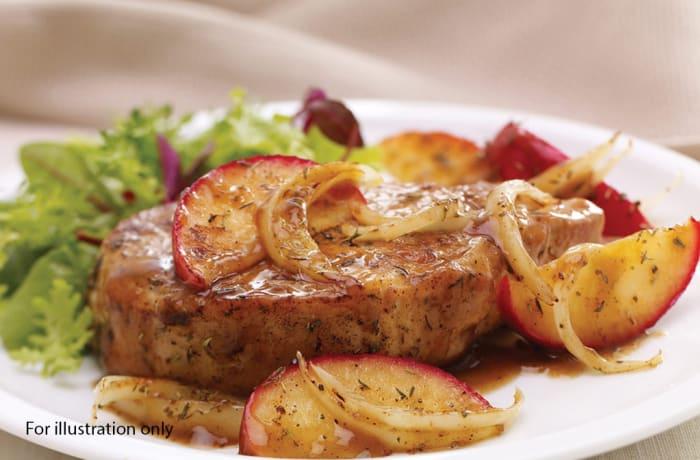 Lunch Choice Option 4 - Roast Pork, Gravy 'N Apple Sauce