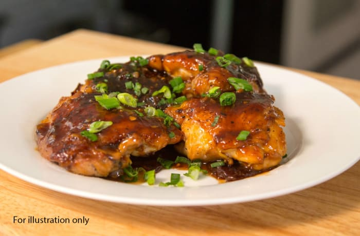 Lunch Choice Option 5 - Plum 'N Ginger Chicken Pieces