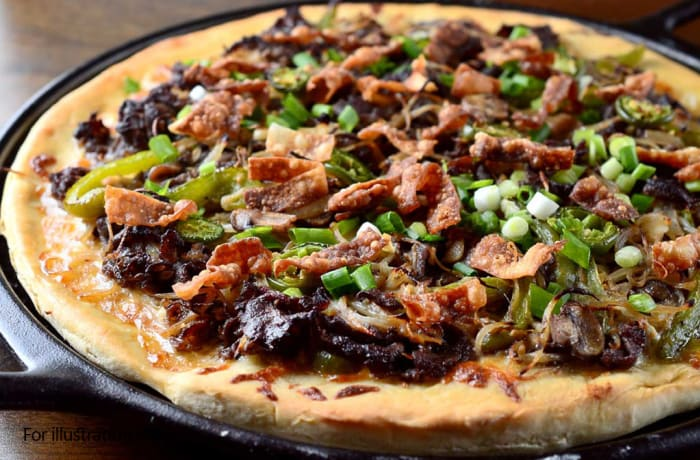 Pizza - Barbeque Beef and Vegetable