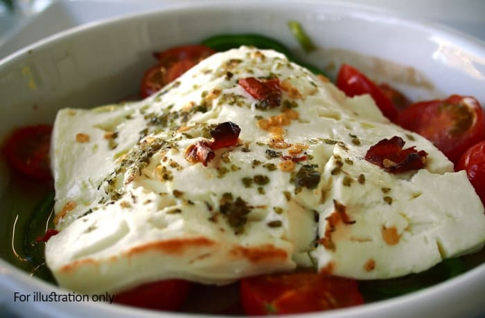 Simply Light - Pan Fried Feta with Chilli Jam