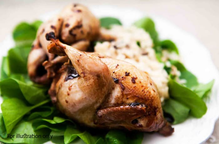 Something Substantial - Oven Roasted Quails