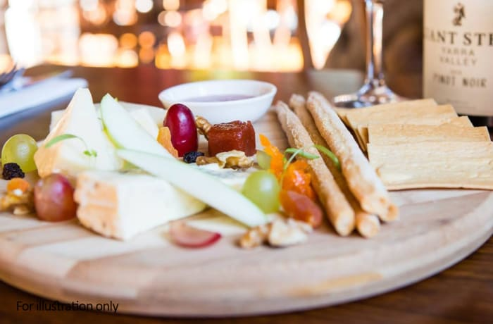 Something Substantial - Paté with Cheese Platter
