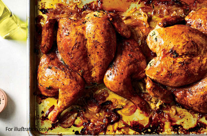 The Zambian Menu - Hots - Roast Chicken
