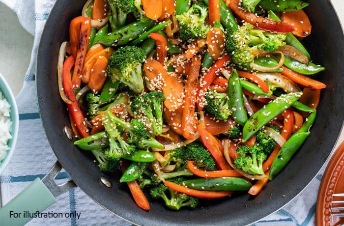 The Zambian Menu - Hots - Steamed Seasonal Vegetables