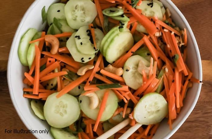 Wedding Menu Option 1 - Cold - Carrot & Cucumber Salad