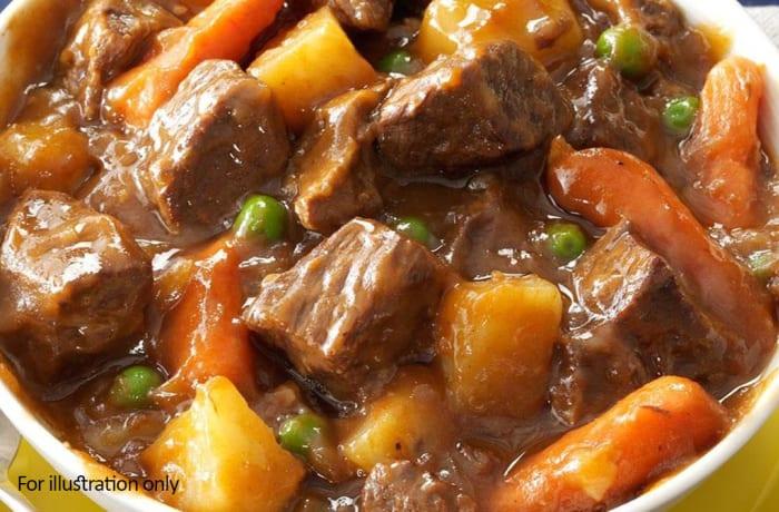 Wedding Menu Option 1 - Hots - Beef Stew