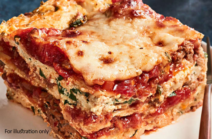 Lunch Choice Option 3 - Beef Lasagna