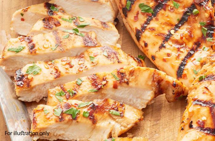 Wedding Menu Option 2 - Hots - Grilled Chicken