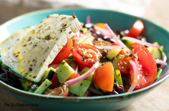 Wedding Menu Option 3 - Cold - Retreat Greek Salad