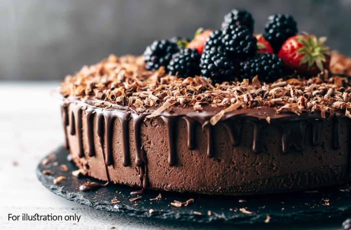 Wedding Menu Option 3 - Dessert - Chocolate Mousse Torte with Seasonal Berries