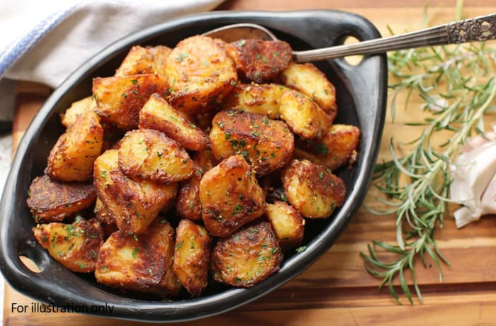 Wedding Menu Option 3 - Hots - Golden Roast Potatoes