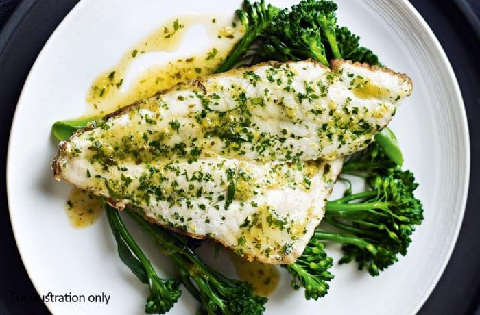Wedding Menu Option 2 - Hots - Pan Fried Fish Fillets
