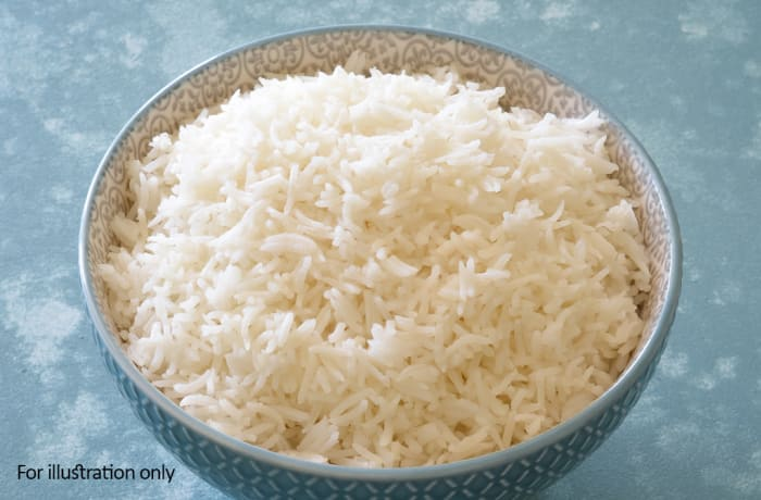 Wedding Menu Option 3 - Hots - Steamed Rice