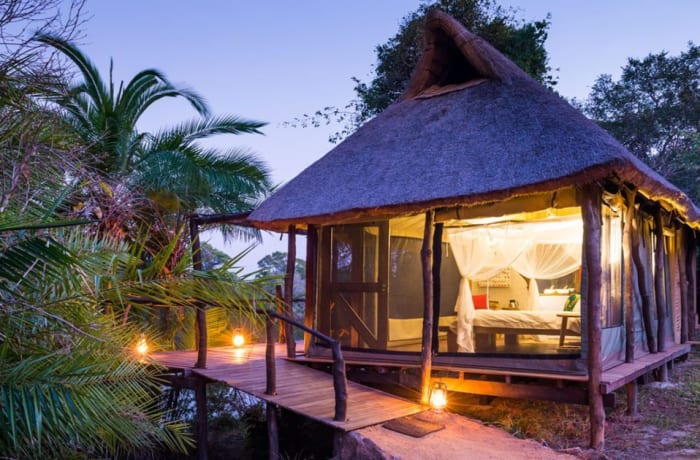 Tented chalets
