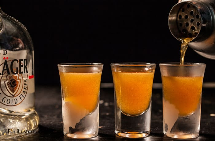 Cocktail - Shooters - Liquid Cocaine