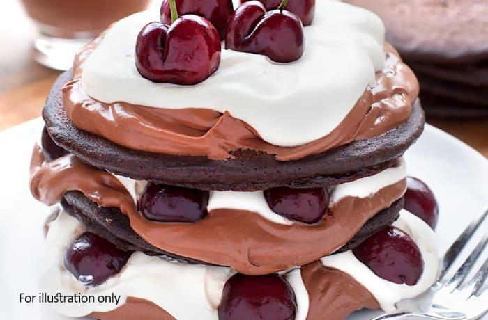 Coffee & Dessert - Black Forest Stack
