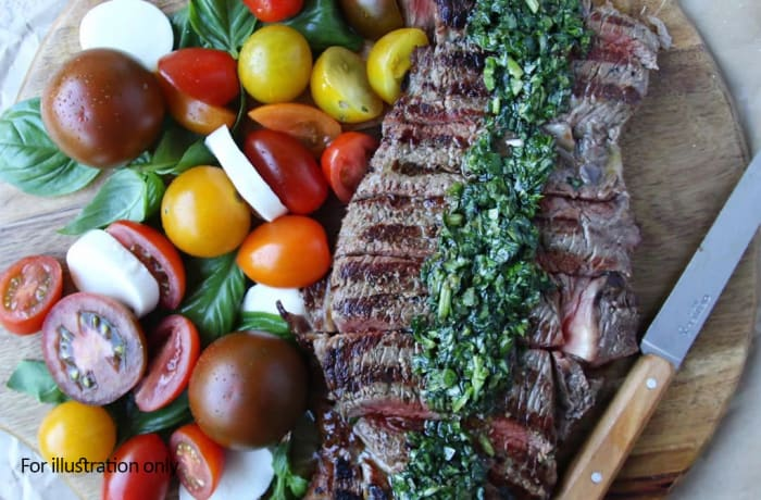 From The Grill - Caprese Rump