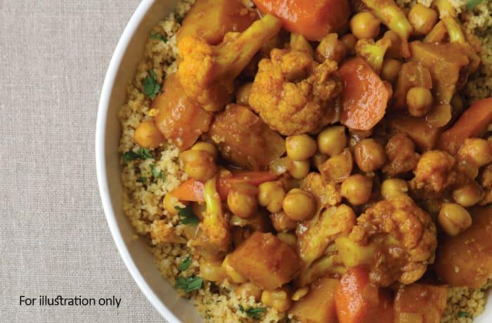 Vegetarian - Chickpea & Sweet Potato Tagine