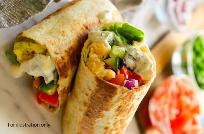 Vegetarian - Vegetarian Wrap