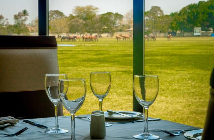 Fine dining restaurant image