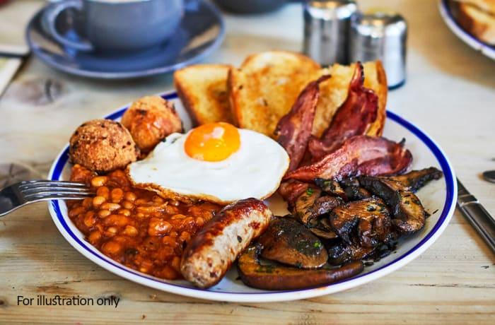 Breakfast Meals - Non–Residents Full English breakfast