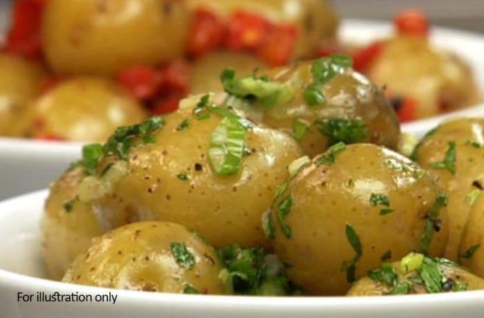 Buffet Menu 1 - Steamed Potatoes