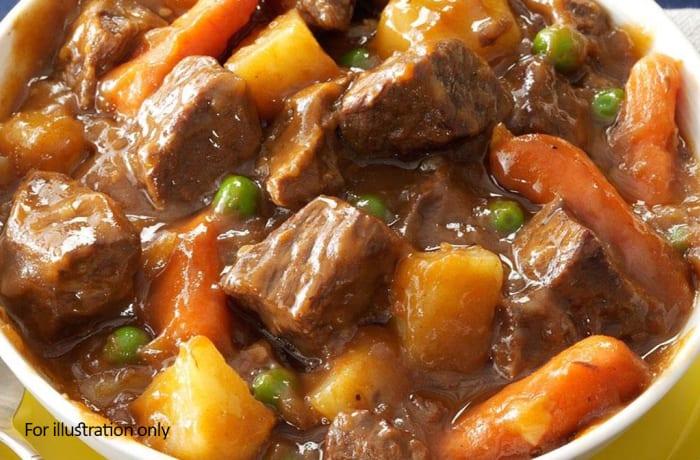Buffet Menu 1 - Beef stew