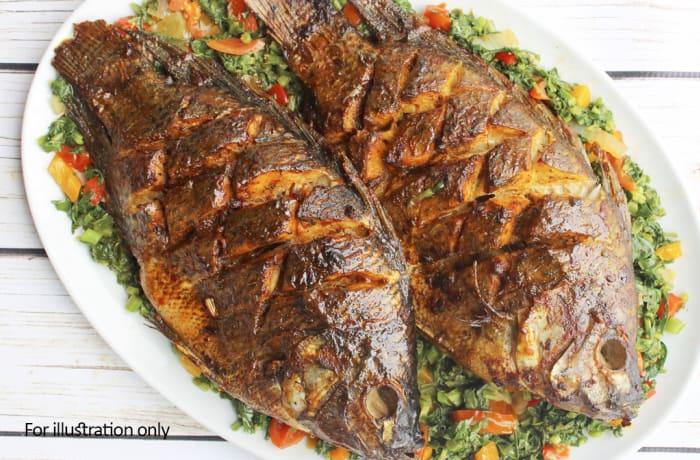 Buffet Menu 2 -  Deep Fried Bream Fish