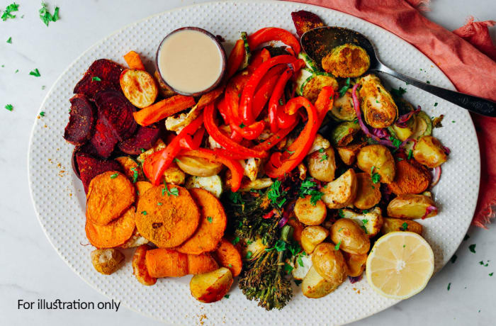 Buffet Menu 3 -  Seasonal Vegetables